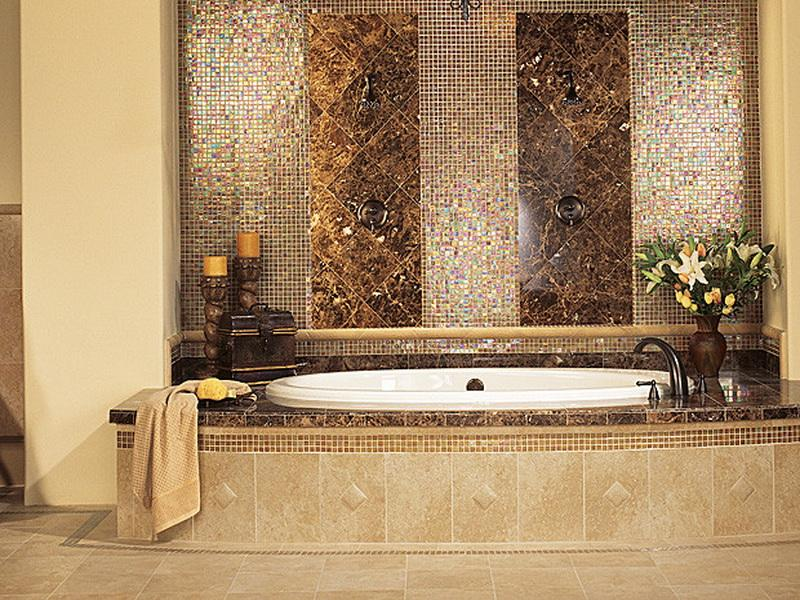 Pics of elegant bathrooms 12 decoration inspiration for Carrelage refin