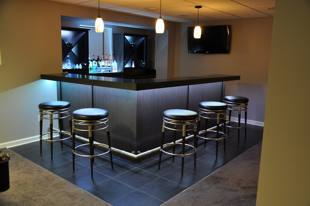 Small basement bar ideas 6 designs for Small basement bar ideas