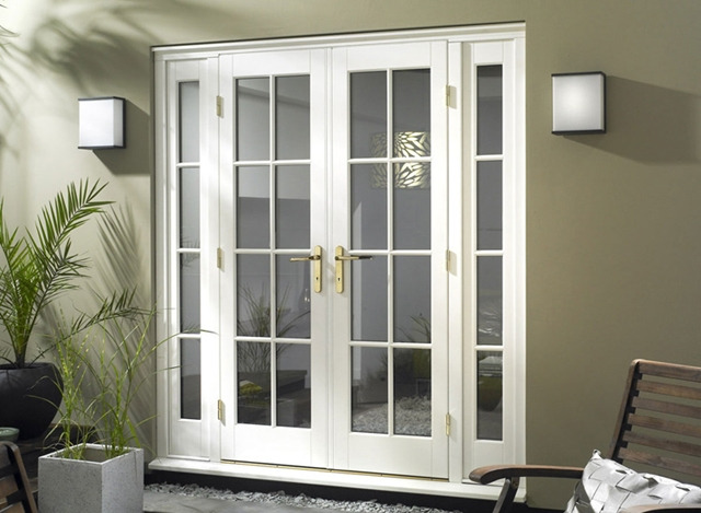 small exterior french doors renovating ideas - Narrow Exterior French Doors