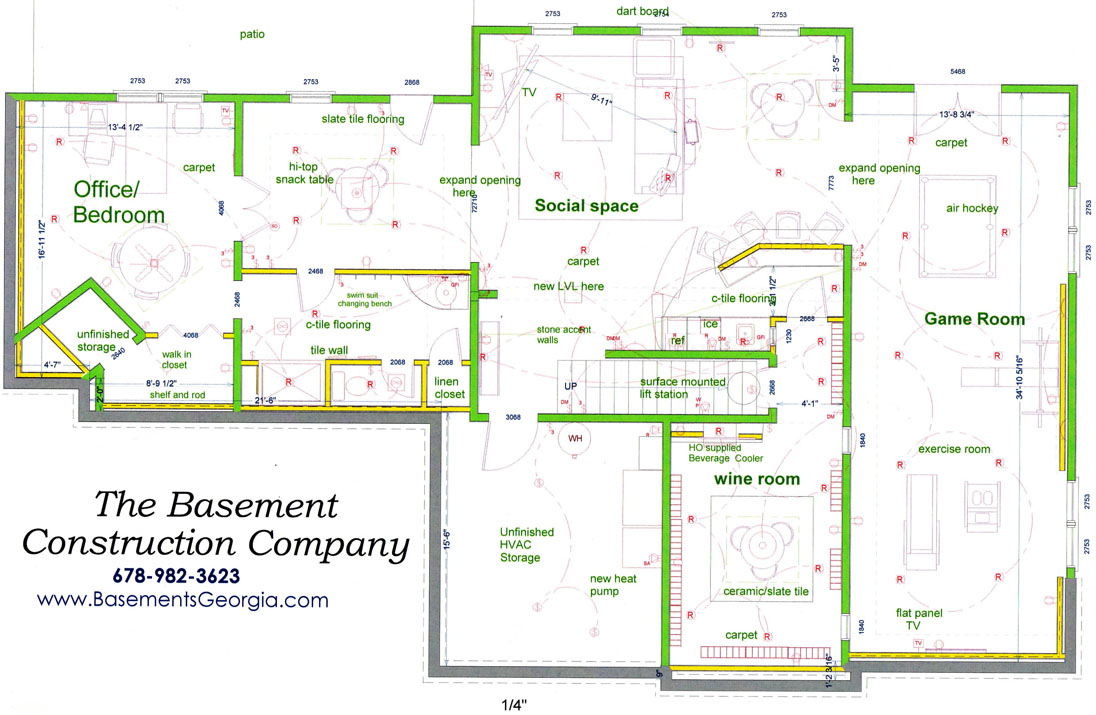 Basement design layouts 10 home ideas for Basement design layouts