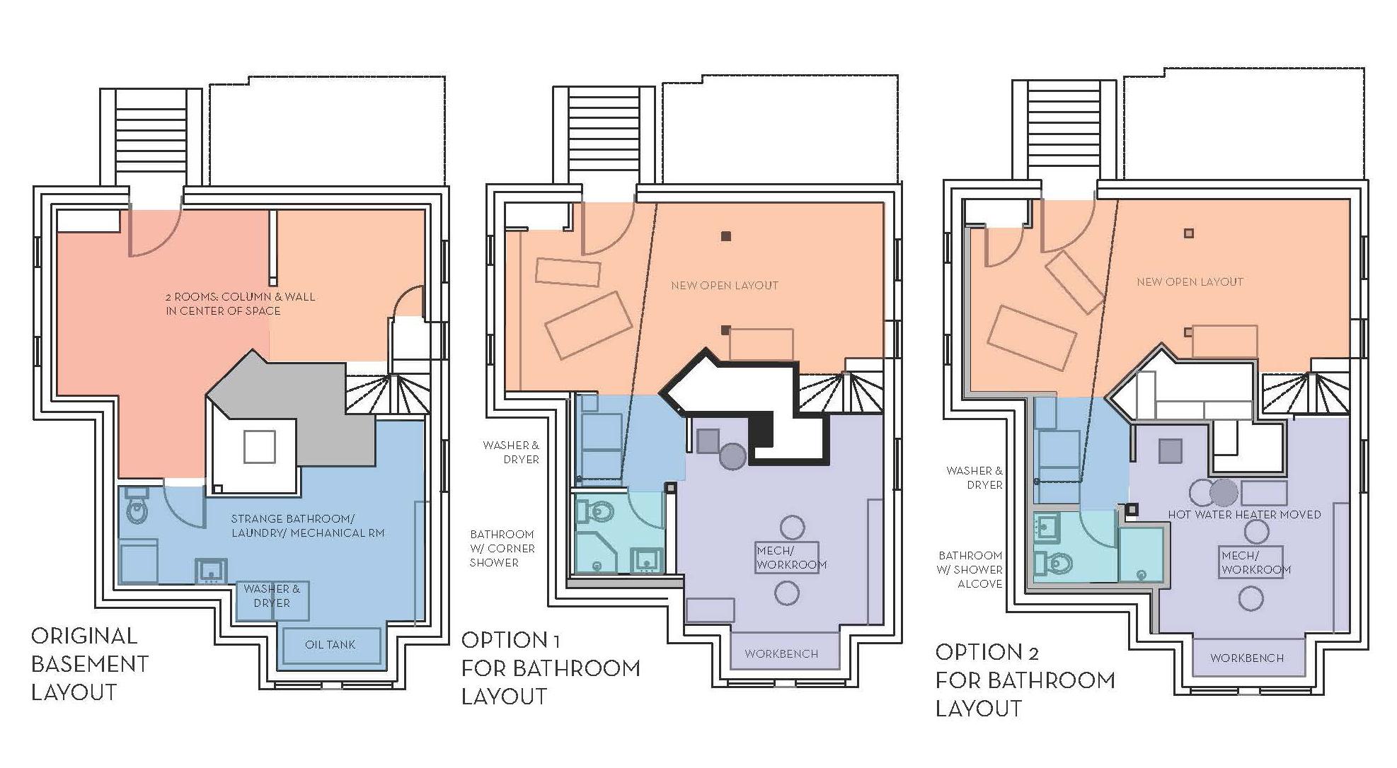 Basement design layouts 7 architecture - 7 great basement design ideas ...