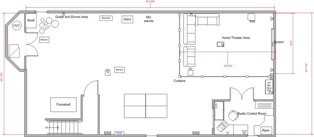 Basement design layouts design ideas for Design basement layout free