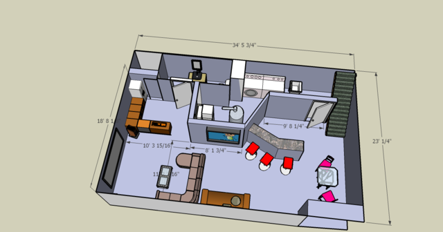 Basement layout 29 decoration inspiration for Basement design layouts
