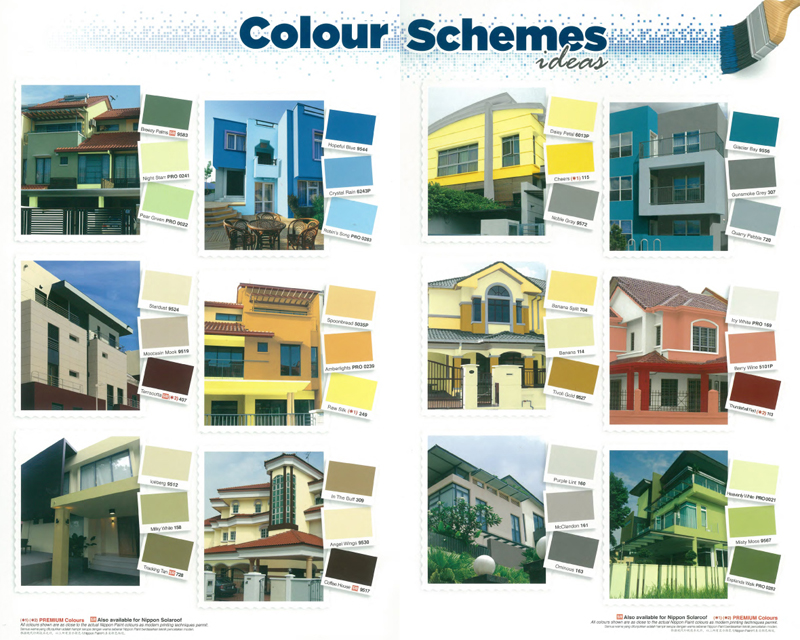 Exterior Wall Paint 6 Designs EnhancedHomesorg