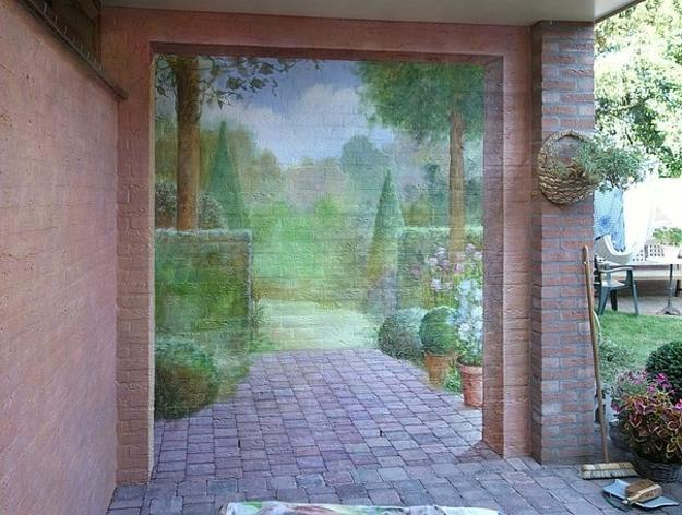 Exterior wall paint 25 decoration idea - Exterior wall paint design photos ...