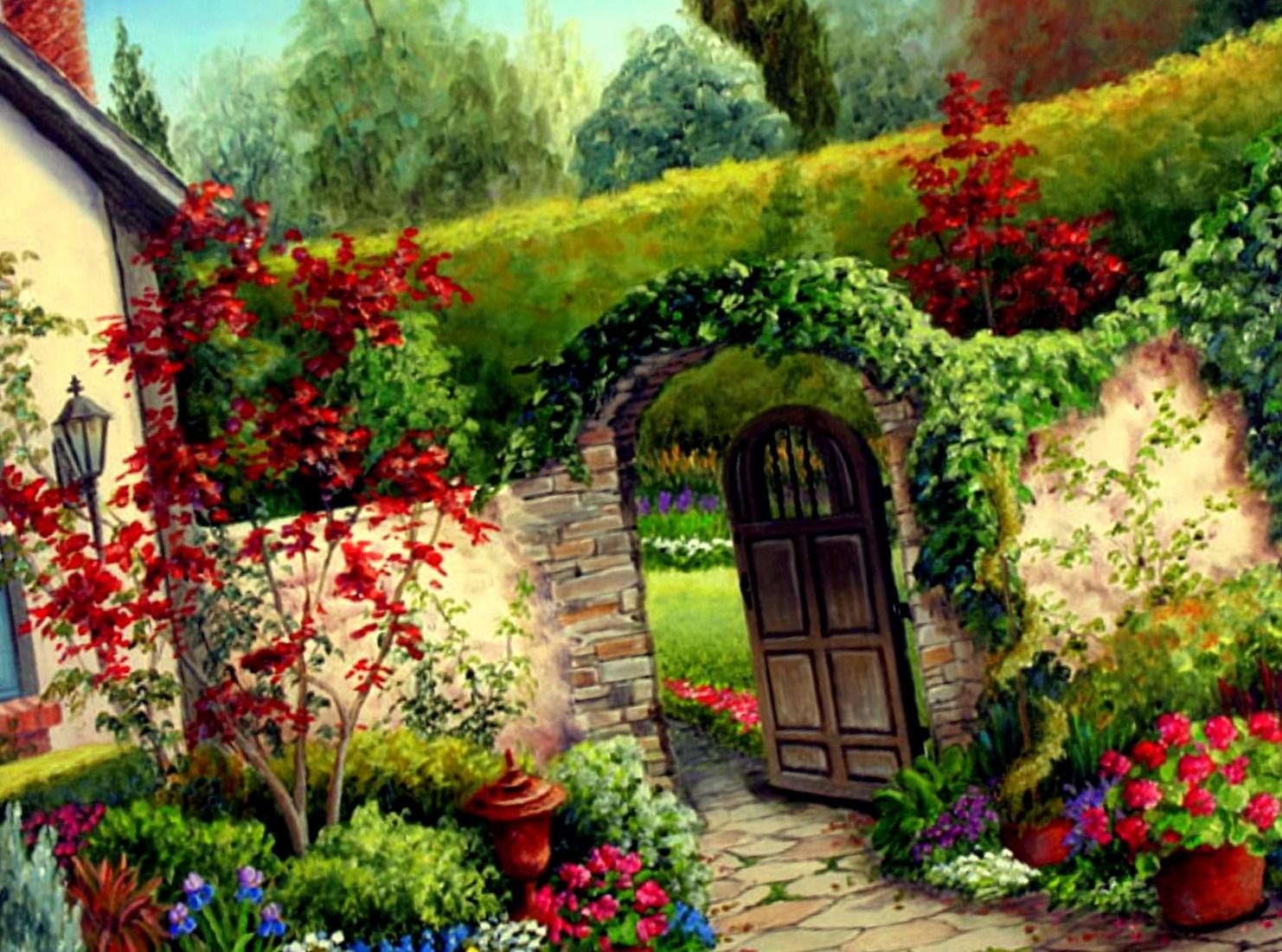 garden flowers re decorating ideas