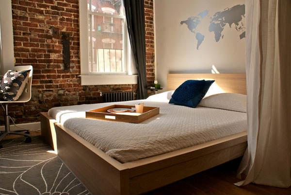 Bedroom Wallpaper Brick 2 Ideas