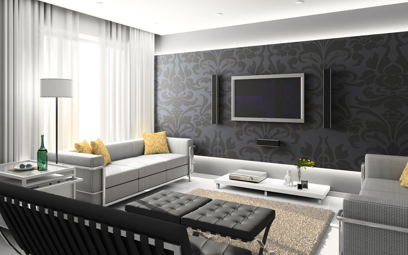 Wallpaper For Home Interiors Re Decorating Ideas