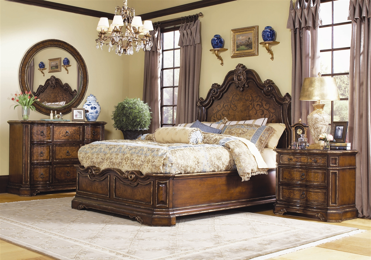 High End Traditional Bedroom Furniture 1 Decoration ...