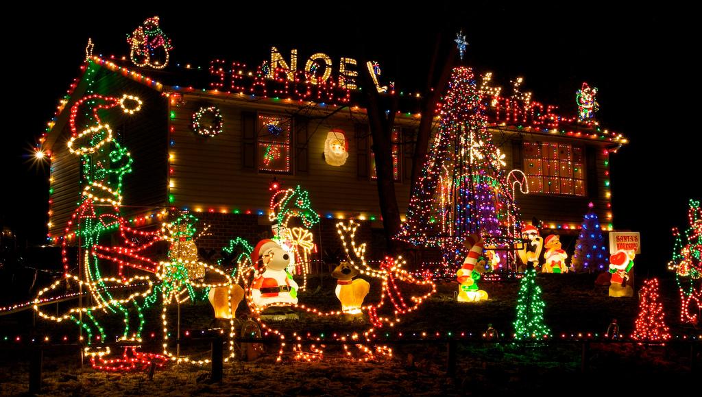 Christmas Lights 2 Decoration Idea