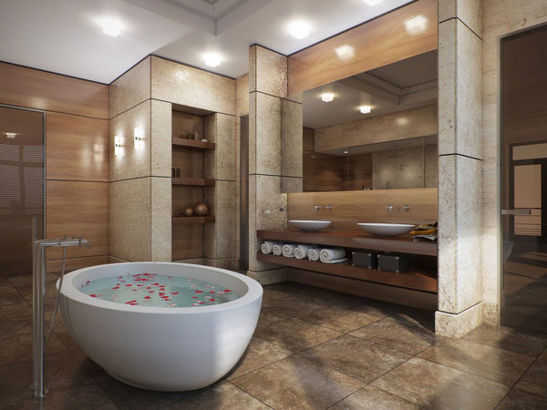 Pics Of Elegant Bathrooms Renovations