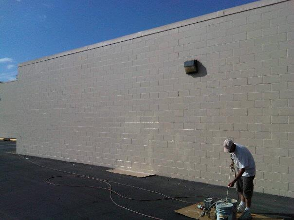 How To Paint Exterior Concrete Wall